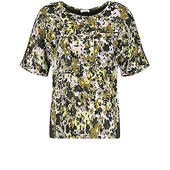 Gerry Weber T-Shirt 1/2 Arm, Canne Olive Stampa, 52 Donna