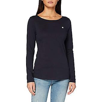 Marc O'Polo B01218352487 Camiseta, Azul, L Mujer