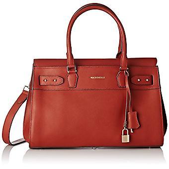 Mac Douglas EMERAUDE ELODIE, Women's Handbag 26x20x37.5 cm (W x H x L), Brown (Brown (Brique 39GC)), 26x20x37.5 cm (W x H Ref. 3661378925011