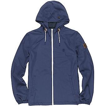 Element Alder Poplin Jacket in Indigo