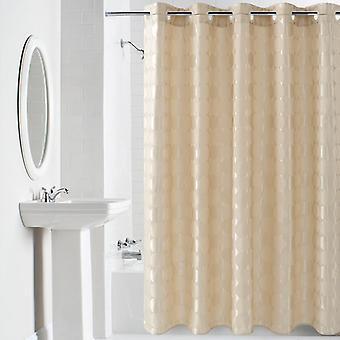 Elegante Runde Massive Shower Vorhang dicke wasserdichte Duschvorhang (180x180CM)