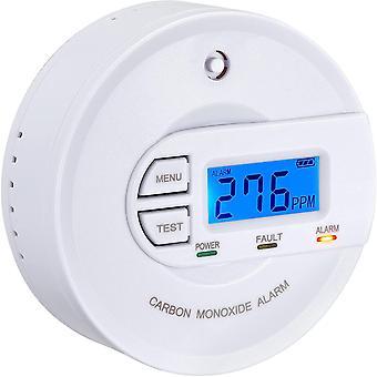 CO Melder EN 50291 Zertifiziert, batteriebetrieben, 10 Jahres-Sensor, CO Alarmmelder mit