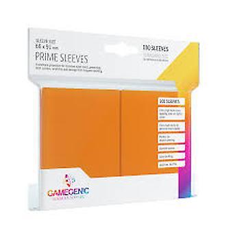 Gamegenic Prime Orange - 100 Sleeves