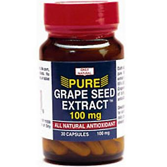 Only Natural Grape Seed Extract, 30 Caps