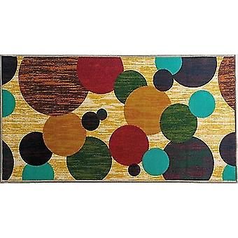 Rugs bubbles style polyester anti slip small carpet / rug
