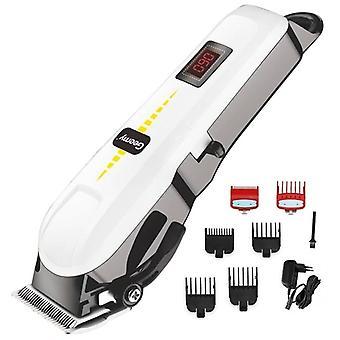 Barbeiro profissional cortador de cabelo cortador de cabelo aparador de barba trimer para homens elétrica corte de cabelo máquina recarregável corte de cabelo