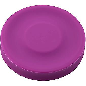 Chip Silicone Flexibele Mini Flying Disc Frisbee (Paars)