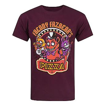 Five Nights At Freddys Official Mens Character T-Shirt