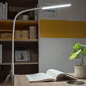 Long Arm Led Desk Lamp -10w-clip Flexible Table Light