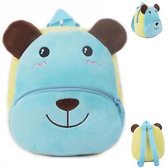 Rucksäcke blau gedruckt Hund Cartoon Tasche