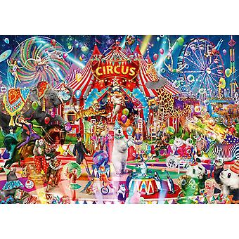 Bluebird A Night at the Circus Jigsaw Puzzle (1000 Pieces)