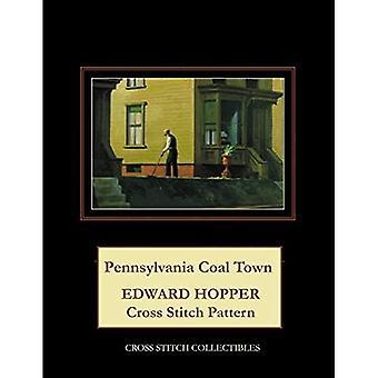 Pennsylvania Coal Town: Edward Hopper Cross Stitch Pattern