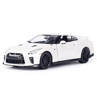 Toy cars bburago 1:24 gt r sports car static die cast vehicles collectible model car toys|diecasts