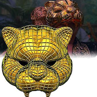 Tintenfisch Spiel Cosplay Maske Kostüm Party Maske 123 Holz Menschen