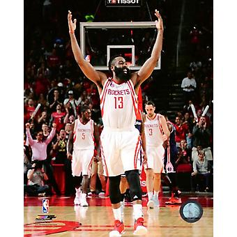 James Harden 2016-17 Action Photo Print