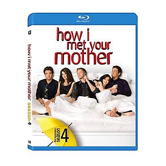 Hur jag träffade din mamma: säsong 4 [Blu-ray] USA import