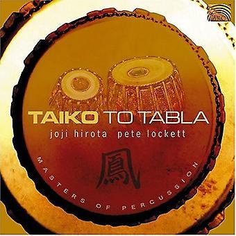 Hirota/Lenne - Taiko d'importation USA Tabla [CD]