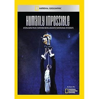 Menschlich unmöglich: Hit durch eine Ladung LKW überleben [DVD] USA import