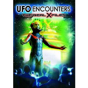 Ufo Encounters: The Real X Files [DVD] USA import