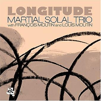 Solal Trio, Martial - Longitude [CD] USA import