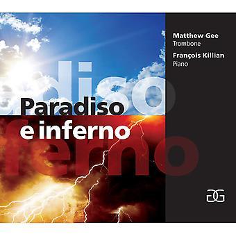Gee, Matthew / Killian, Francois - Paradiso E Inferno [CD] USA Import