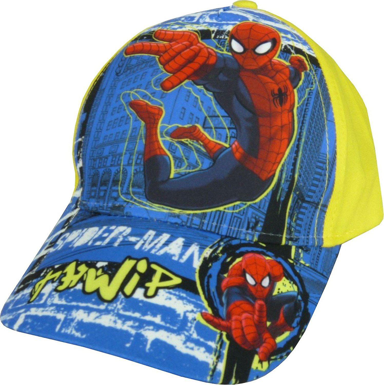 6fd20271f6ee7a Boys Marvel Spiderman Baseball Cap Hat with Adjustable Back | Fruugo