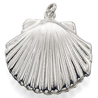 925 zilveren modieuze schelp ketting