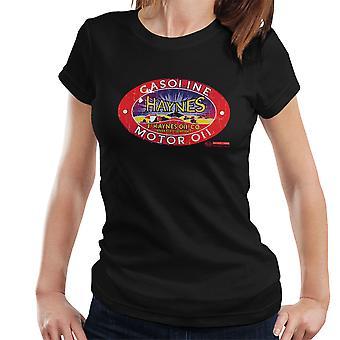 Haynes Brand J Haynes Oil Co Gasoline Motor Oil Women's T-Shirt
