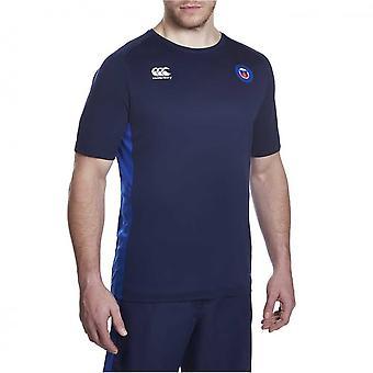 CCC Bath rugby superleggero poli formazione maglietta [peacoat]