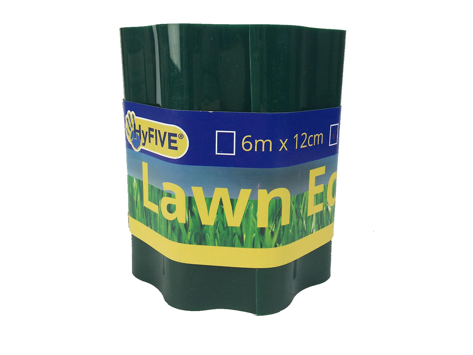 Hyfive Lawn and Beet Patch Border for Garden Green 15cm x 6m
