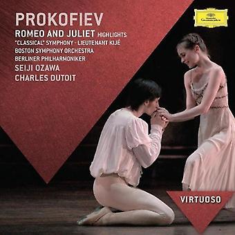 Seiji Ozawa - virtuoosi Prokofjev: Romeo & Julia (Poimintoja) [CD] USA tuonti