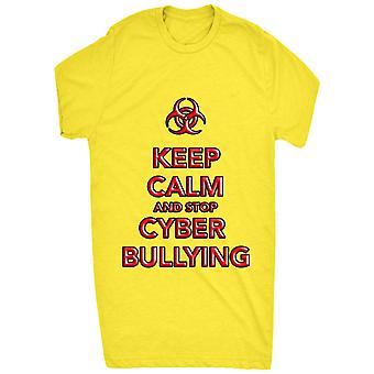 Célèbre garder calme et arrêt cyber intimidation 0754