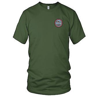 US Coast Guard USCG - Kystvakten sønn av en Afghanistan Veteran brodert Patch - Mens T-skjorte
