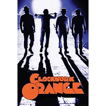 La naranja mecánica - callejón cartel Poster Print