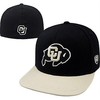 Colorado Buffaloes NCAA TOW Slam Flat Bill Stretch Fitted Hat