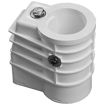 """Saftron SAANCH 1.90"""" Anchor Socket White ANCH-1W for Pool Ladders and Handrails"""
