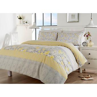 Chelsea Floral Modern Duvet Cover Bedding Set All Sizes