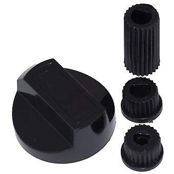 Indesit Universal Cooker/Oven/Grill Control Knob And Adaptors Black