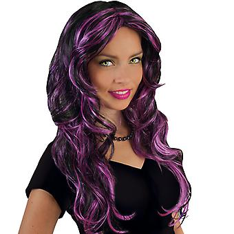 Funny Star Purple Longhair peruca