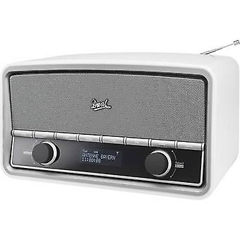 Radio dual NR 5 Desk DAB+, FM AUX, Bluetooth White (brillante)