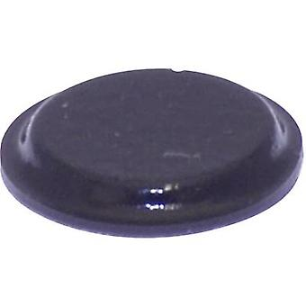 """أسود """"تولكرافت PD2122SW القدم"""" ذاتية اللصق، التعميم (Ø س ح) pc(s) 12.7 مم × 1.8 مم 1"""