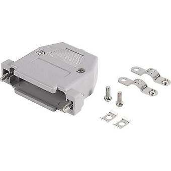 BKL Electronic 10120062 D-SUB housing Number of pins: 25 Plastic 180 ° Grey 1 pc(s)