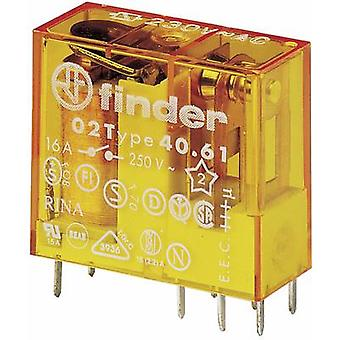 Finder 40.61.8.012.0000 PCB relay 12 V AC 16 A 1 change-over 1 pc(s)