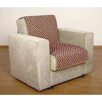 Seat saver wool beige dots 150 x 50 cm