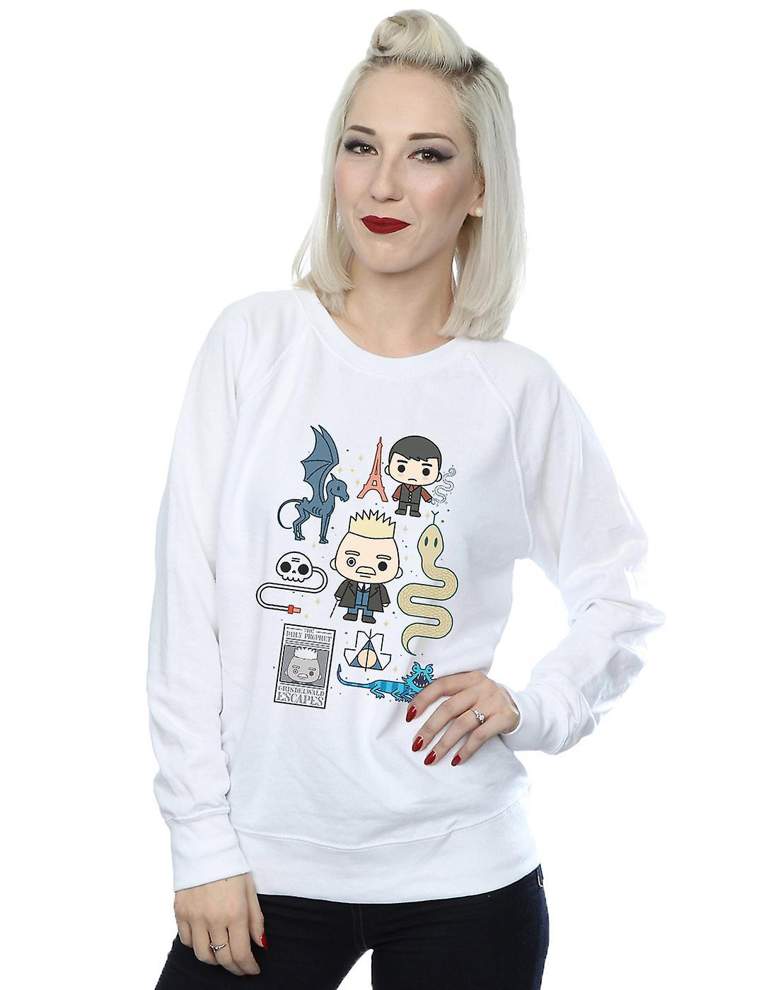 Fantastic Beasts Women's Chibi Grindelwald Sweatshirt
