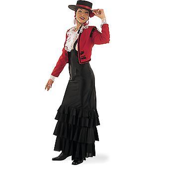 Dames de danseuse flamenco espagnol Cordobesa costume espagnol Espagne