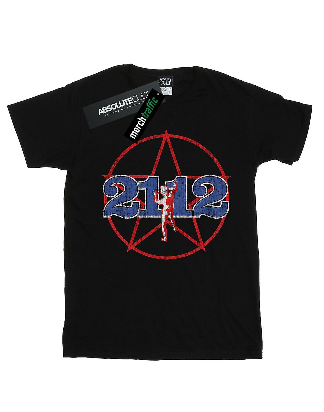 Rush Boys Distressed 2112 Starman T-Shirt