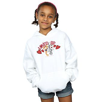 Looney Tunes filles Bugs Bunny et Valentin Lola aimé Up Hoodie