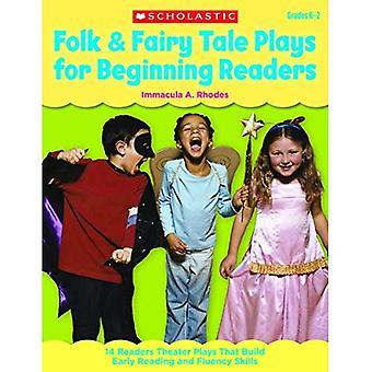 Folkmusik & saga spelar för början läsare