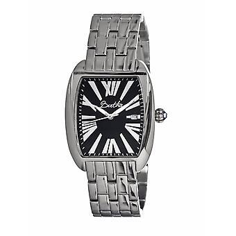 Bertha Anastasia Ladies Bracelet Watch w/Date - Silver/Black